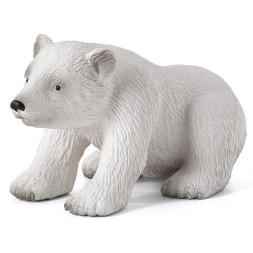 Polar Bear Cub Sitting Mojo