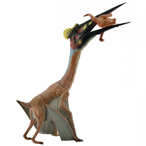 Quetzalcoatlus with Prey
