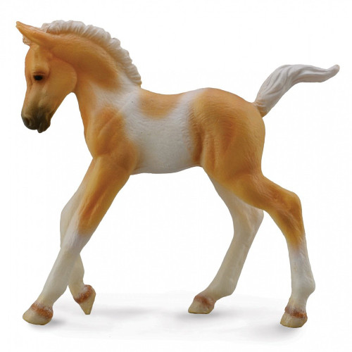 Pinto Foal Walking Palomino CollectA