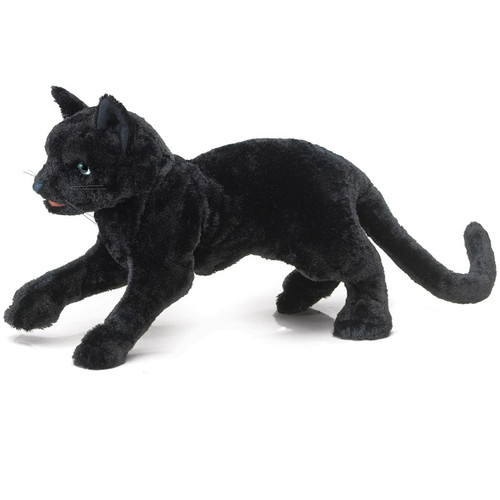 Black Cat Puppet