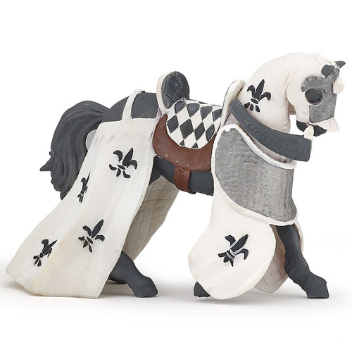 Draped Horse White