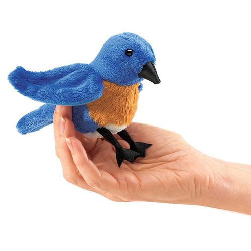 Bluebird Finger Puppet
