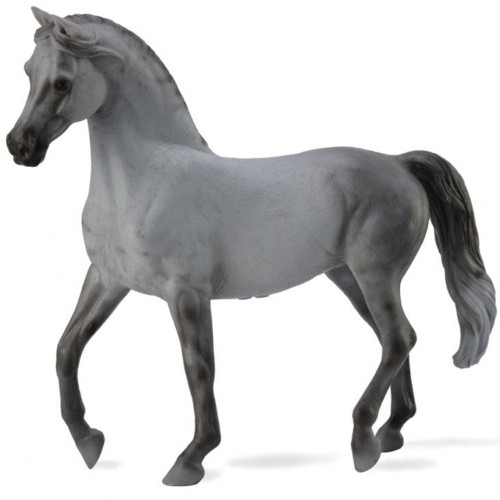 Arabian Mare Grey Deluxe Scale
