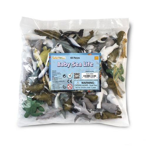 Baby Sea Life Bulk Bag 48pc