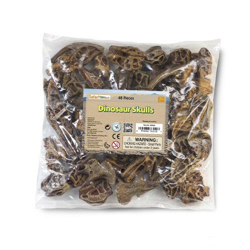 Dinosaur Skulls Bulk Bag 48pc