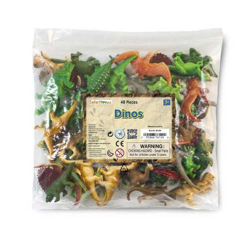 Dinosaurs Bulk Bag 48pc