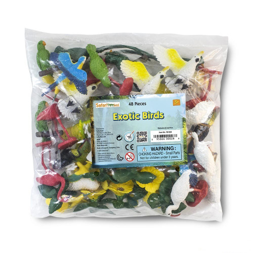 Exotic Birds Bulk Bag 48pc