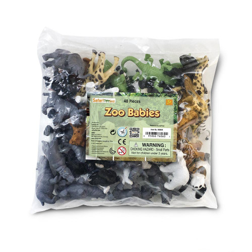 Zoo Babies Bulk Bag 48pc