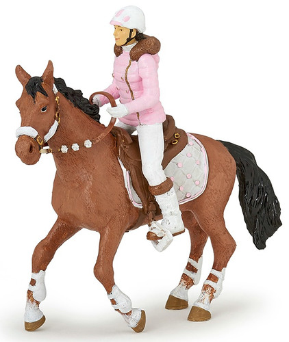 Winter Riding Girl