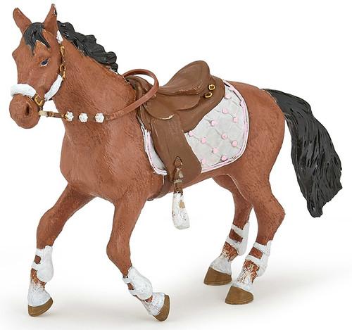 Winter Riding Girl Horse