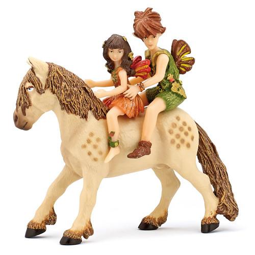 Elf Children & Pony