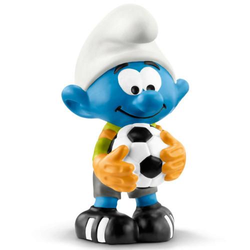 Soccer Smurf Goalie