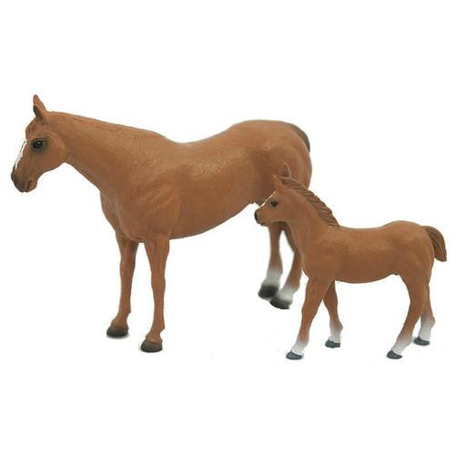 Quarter Horse Mare & Colt