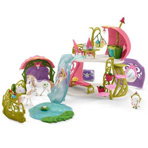 Schleich Glittering Flower House Playset