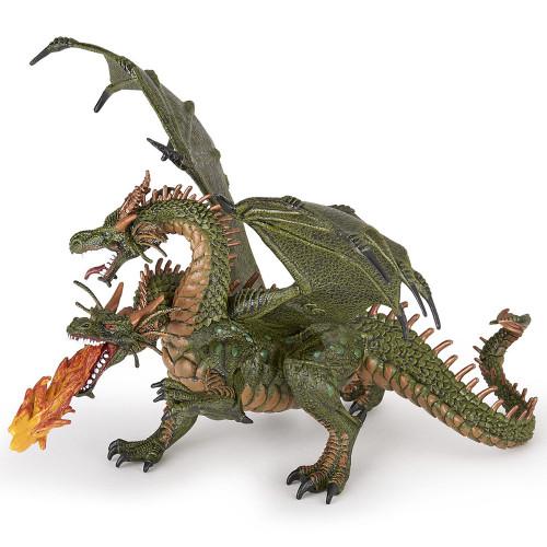 Dragon Two Headed Green