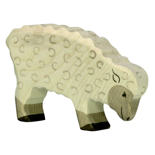 Sheep Feeding Holztiger