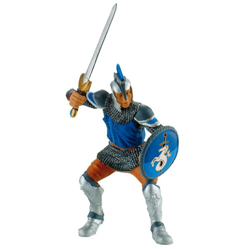 Knight with Sword Blue