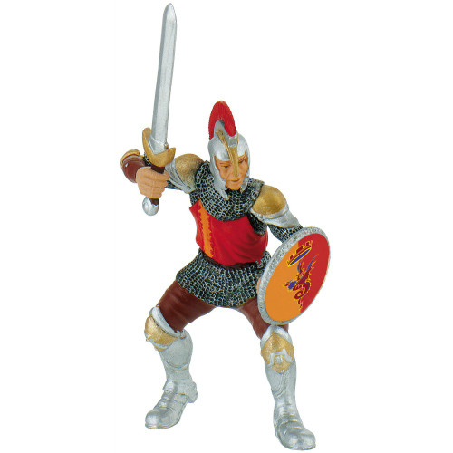 Knight with Sword Red