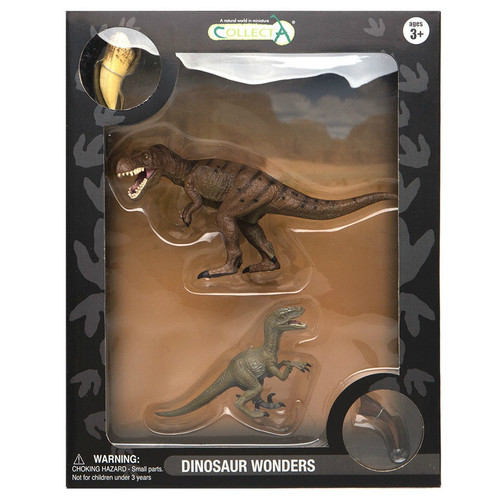 Gift Set TRex & Velociraptor 4pc