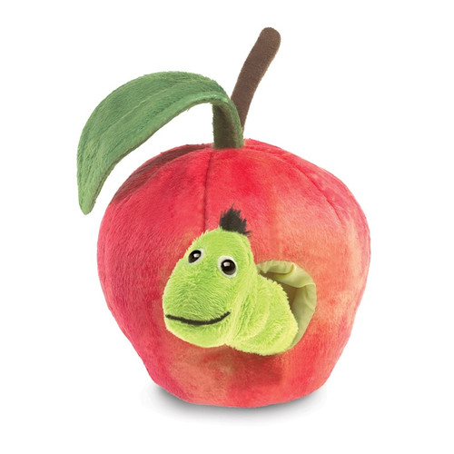 Worm in Apple Puppet
