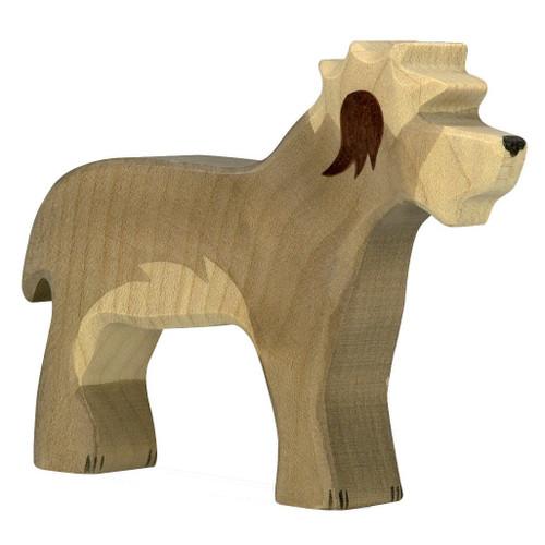 Old English Sheepdog Holztiger