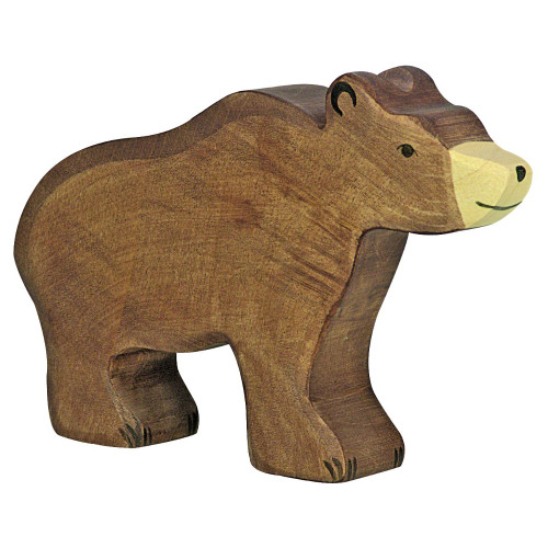 Brown Bear Holztiger