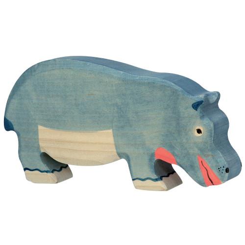 Hippopotamus Feeding Holztiger
