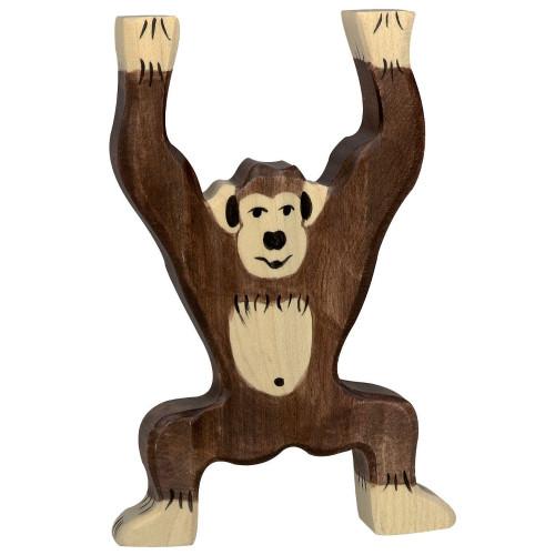 Chimpanzee Standing Holztiger