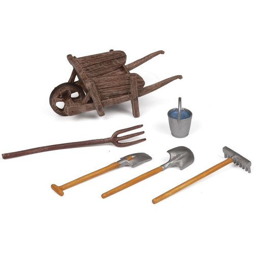 Wheelbarrow and Accessories