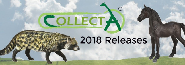 CollectA 2018 Releases | MiniZoo Blog