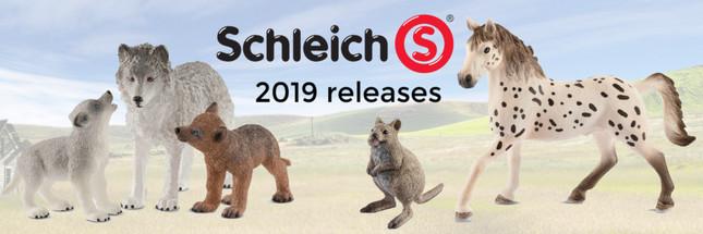 Schleich 2019 Releases | MiniZoo Blog