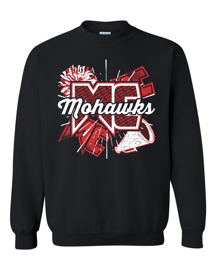 Mohawk Cheer Crew Sweatshirt