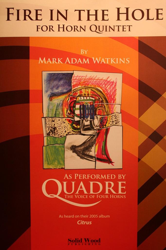 Watkins, Mark Adam - Fire In The Hole