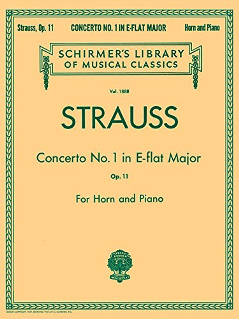 Strauss, Richard - Concerto No. 1 in E-flat Major, Op. 11 (image 1)