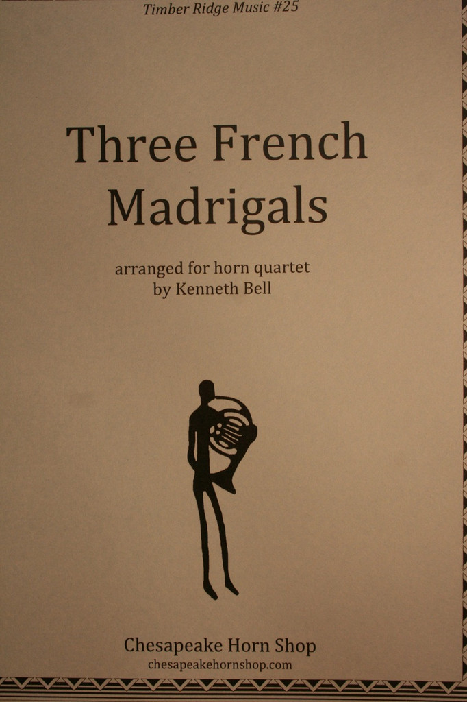 Traditional - Three French Madrigals