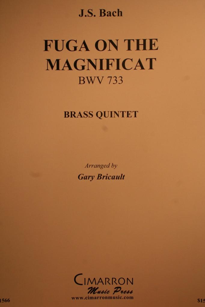 Bach, J.S. - Fuga On The Magnificat, (BWV.733)