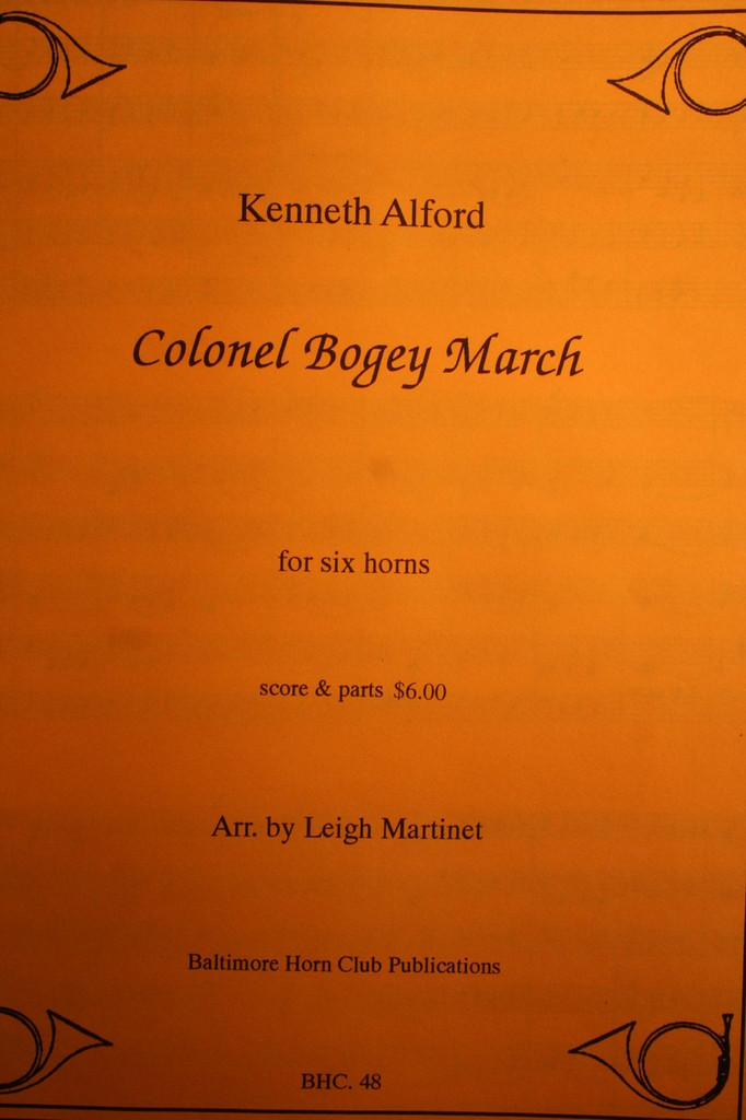 Alford, Kenneth - Colonel Bogey March