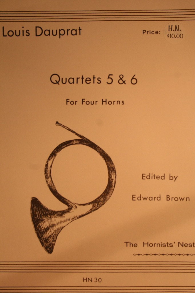Dauprat, Louis - Quartets No. 5 & No. 6