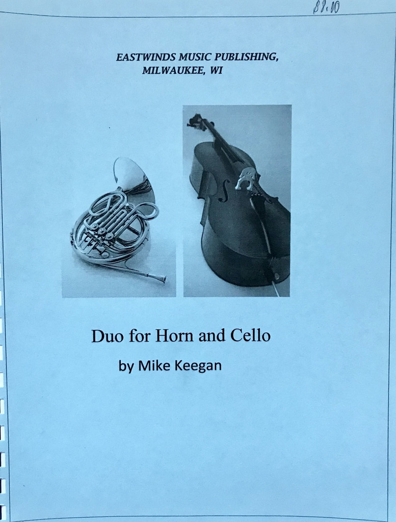 Keegan, Mike - Duo for Horn and Cello