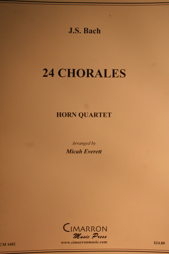 Bach - 24 Chorales