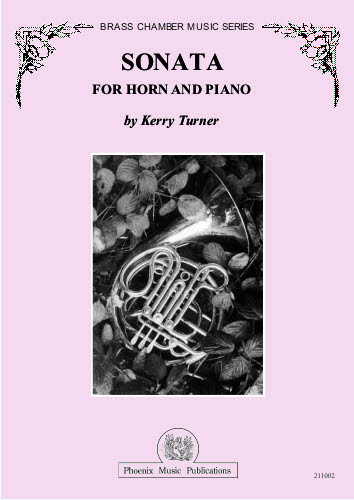 Turner, Kerry - Sonata for Horn and Piano (image 1)