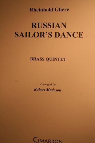 Gliere, Rheinhold - Russian Sailor's Dance