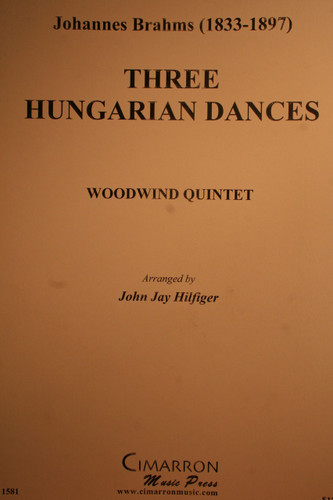 Brahms, Johannes - Three Hungarian Dances