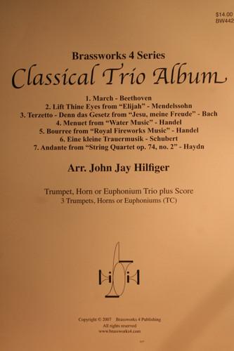 Traditional - Classical Trio Album