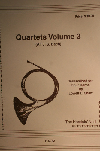 Bach, J.S. - Quartets Vol. 3