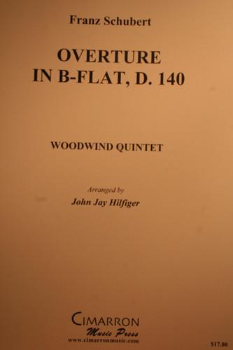 Schubert, Franz - Overture In B-Flat, D. 140