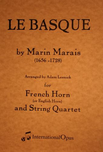 Marais, Marin - Le Basque (Mixed Ensemble)