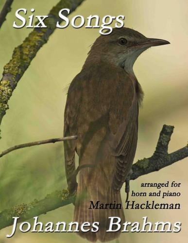 Brahms, J.S. - Six Songs (Arranged by Hackleman)
