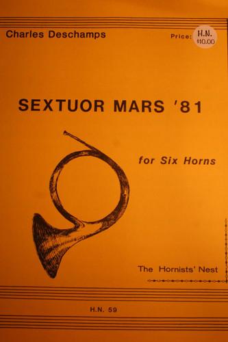 Deschamps, Charles - Sextuor Mars '81