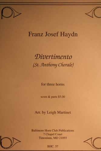 Haydn - Divertimento (St. Anthony Chorale)